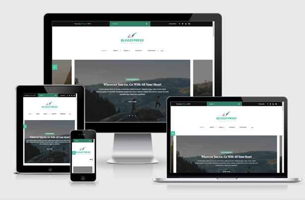 \ BloggyPress | Responsive Personal Blog HTML5 Template Nulled Free Download res pres